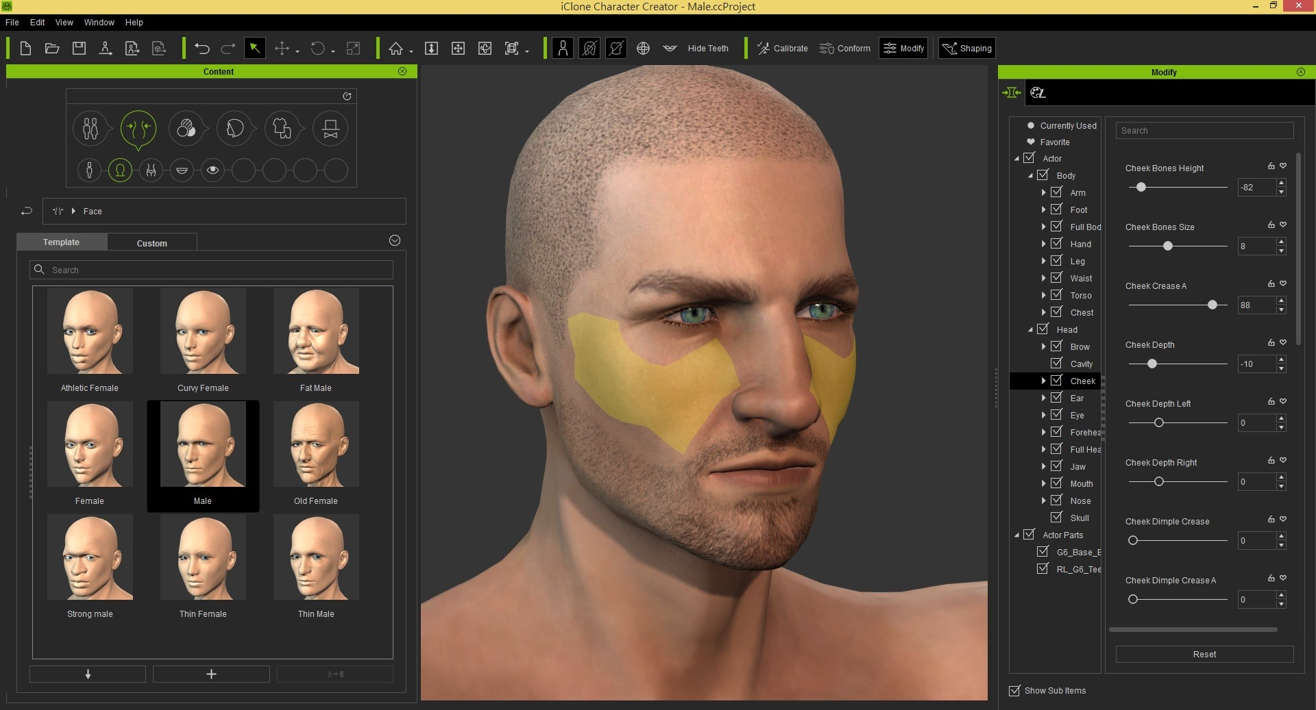 Update was made in jan 2017 the list of alternatives was updated jul 2018 its possible to update the information on iclone character creator or