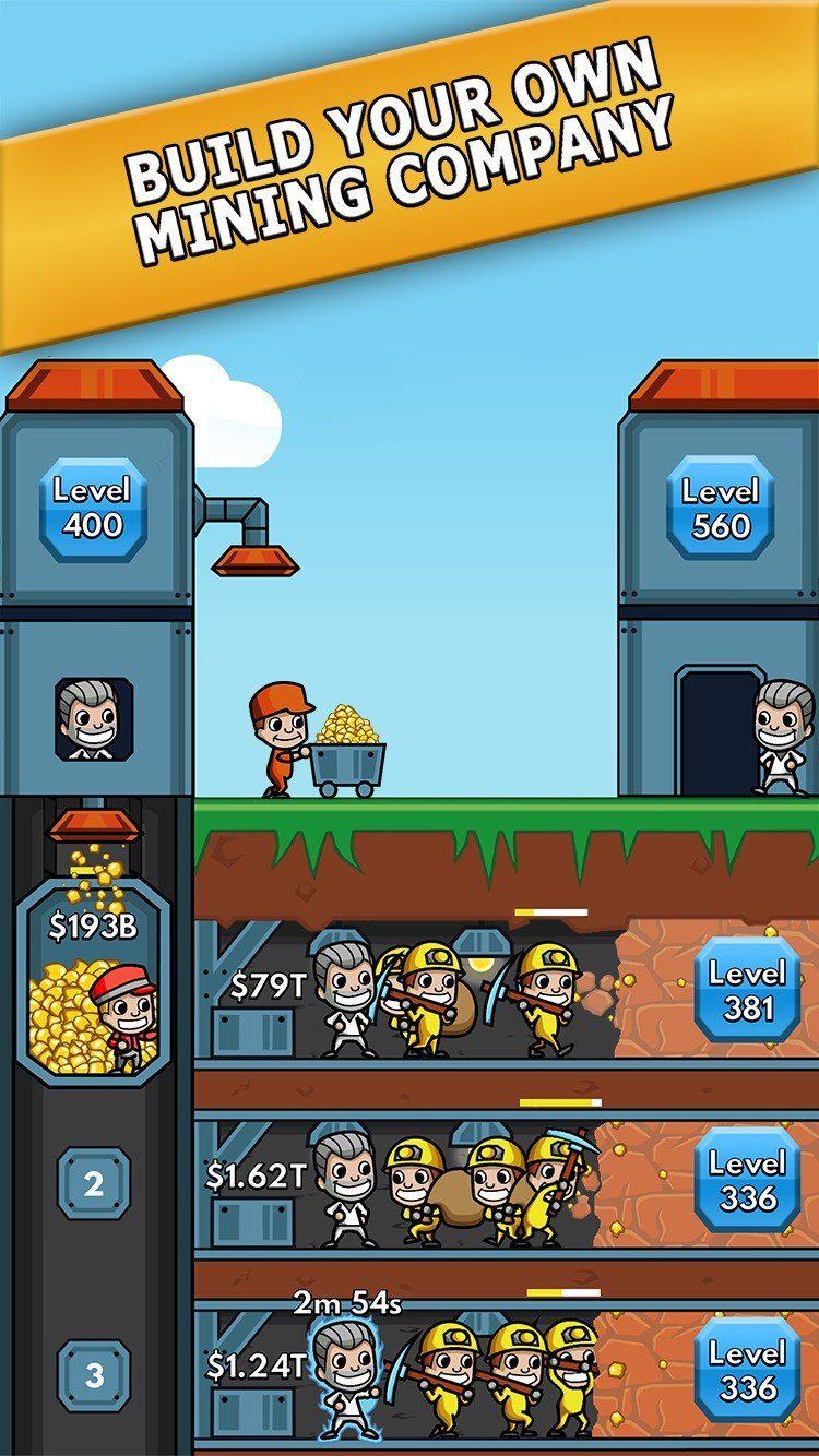 Idle Miner Tycoon Alternatives and Similar Games