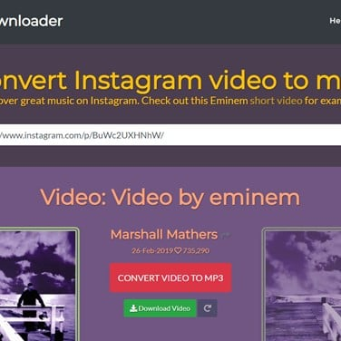 Madison : Download video mp3 instagram