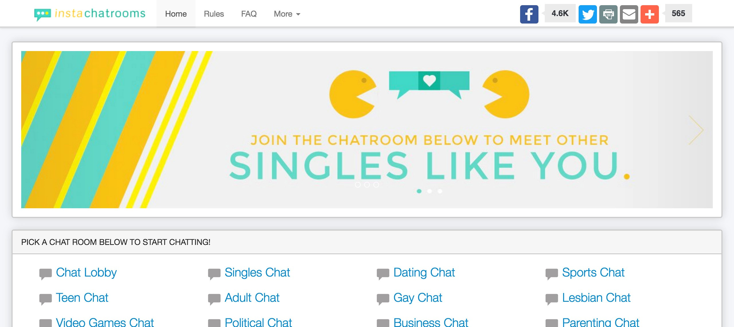free online chat rooms