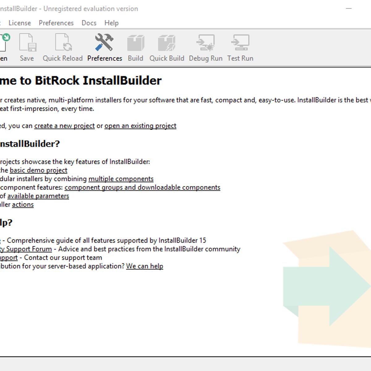 advanced installer add license key