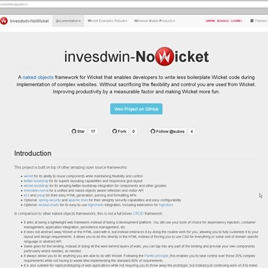 invesdwin-NoWicket Alternatives and Similar Software - AlternativeTo net