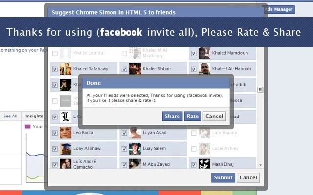 Invite All Friends On Facebook Alternatives And Similar Software
