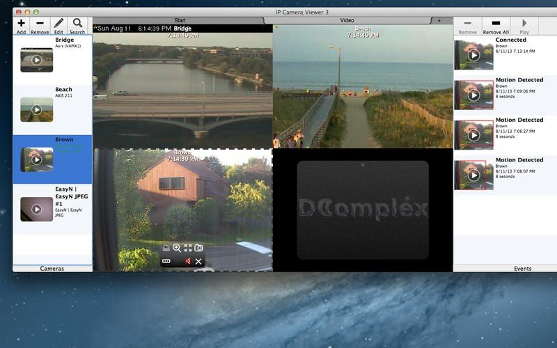 DComplex IP Camera Viewer Reviews, Features, and Download links