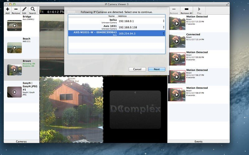 DComplex IP Camera Viewer Reviews, Features, and Download