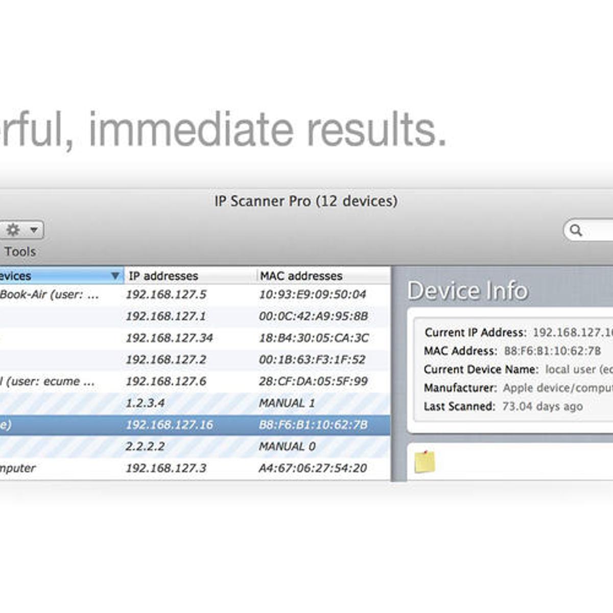 IP Scanner Alternatives and Similar Software - AlternativeTo net