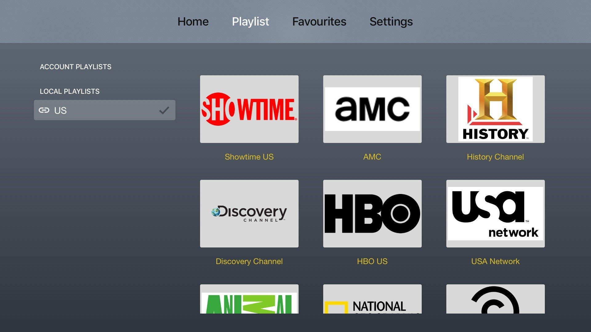 Tnt iptv channel list