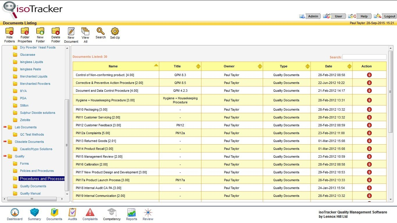 isoTracker QMS Alternatives and Similar Websites and Apps
