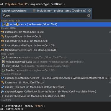 JetBrains Rider Alternatives and Similar Software