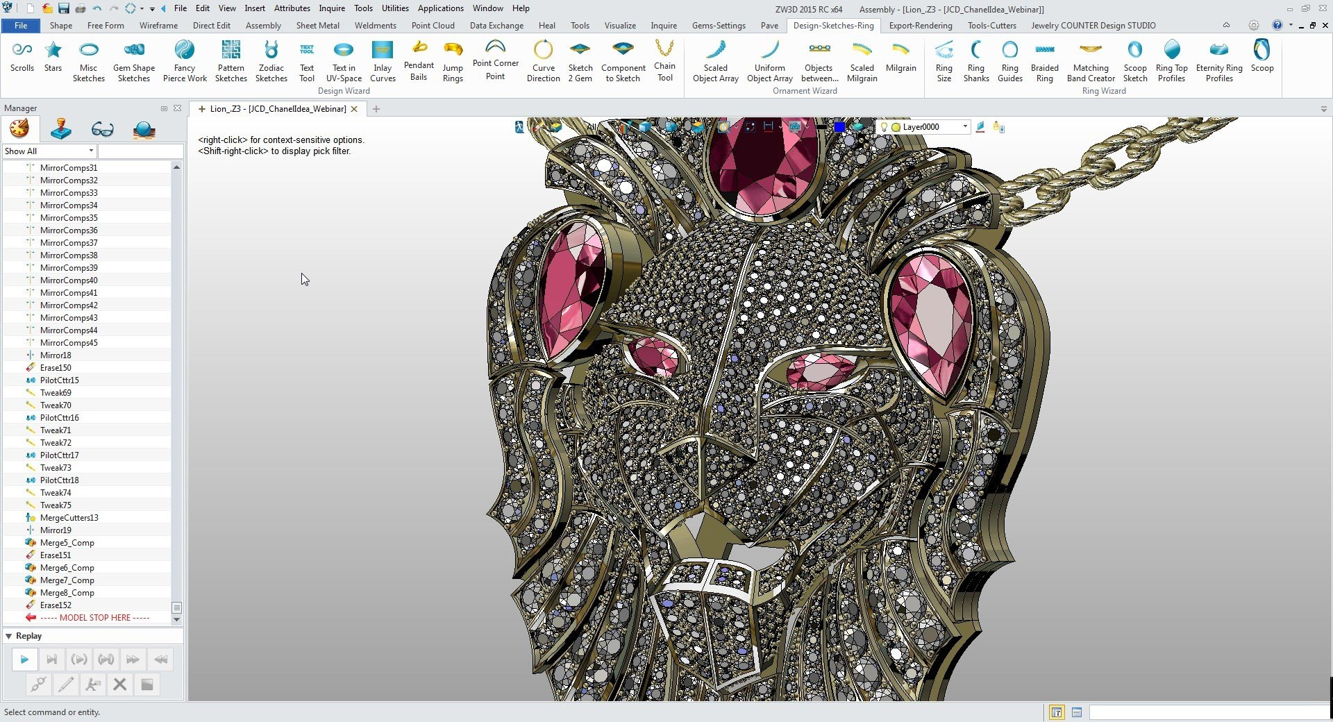 It's possible to update the information on Jewelry CAD Dream or report it as discontinued, duplicated or spam.