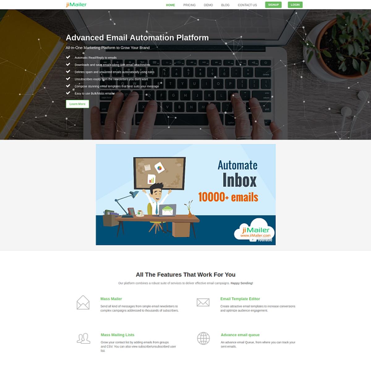 jiMailer Alternatives and Similar Websites and Apps - AlternativeTo net