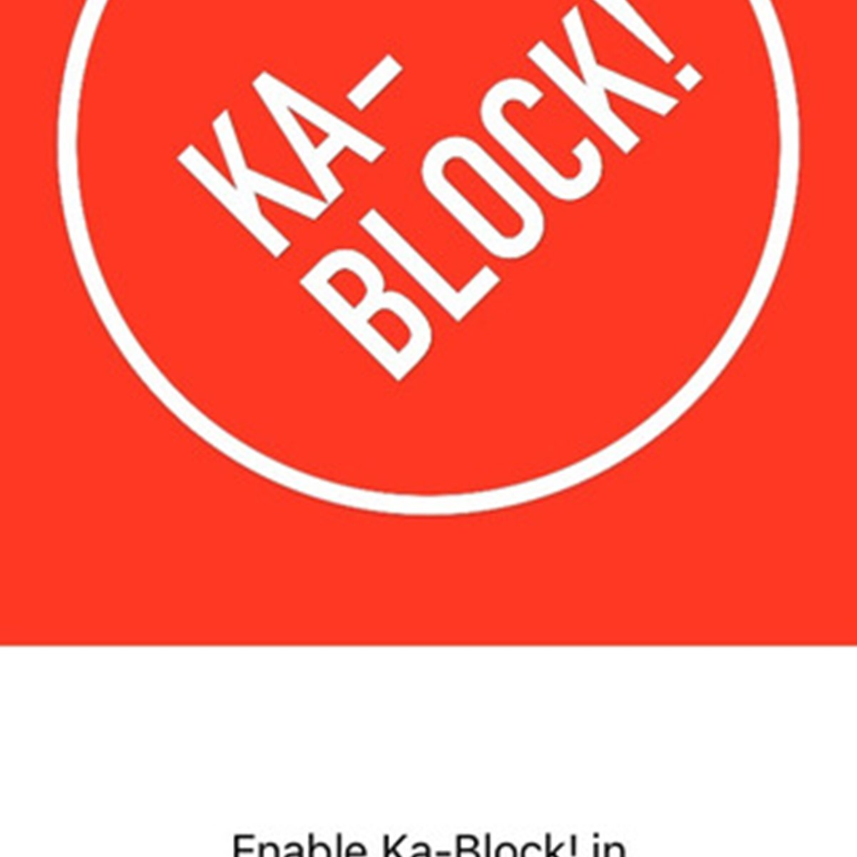 Ka-Block! Alternatives for Google Chrome - AlternativeTo net