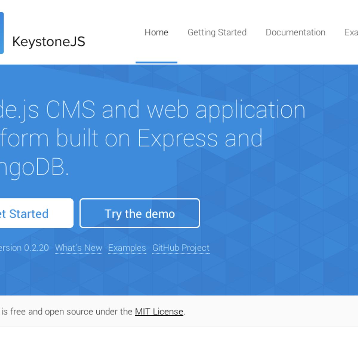 Keystonejs Alternatives And Similar Websites And Apps