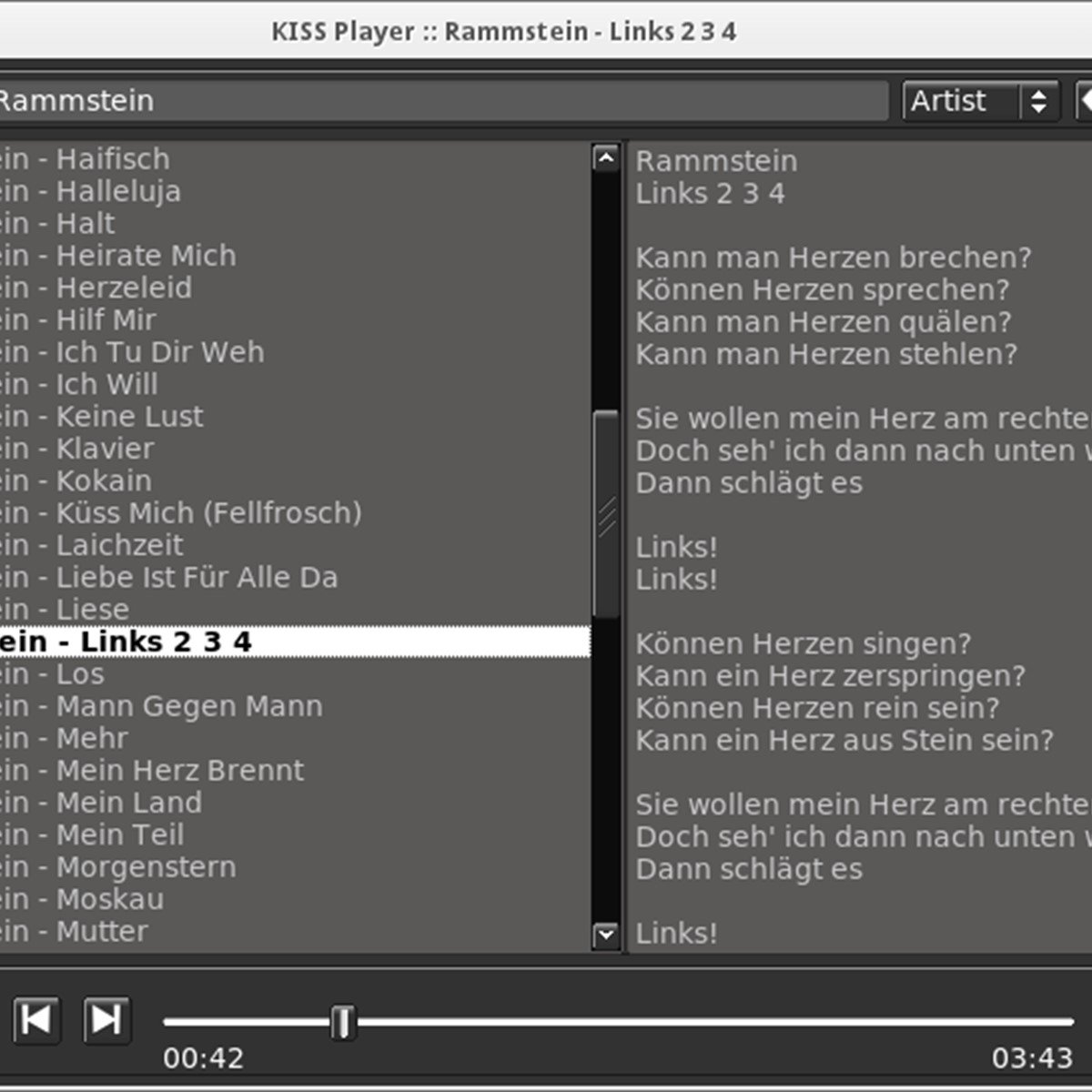 KISS Player Alternatives and Similar Software