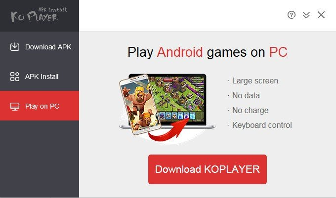 KOPLAYER APK Install Alternatives and Similar Software