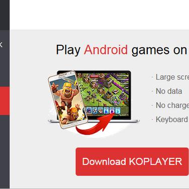 KOPLAYER APK Install Alternatives and Similar Software
