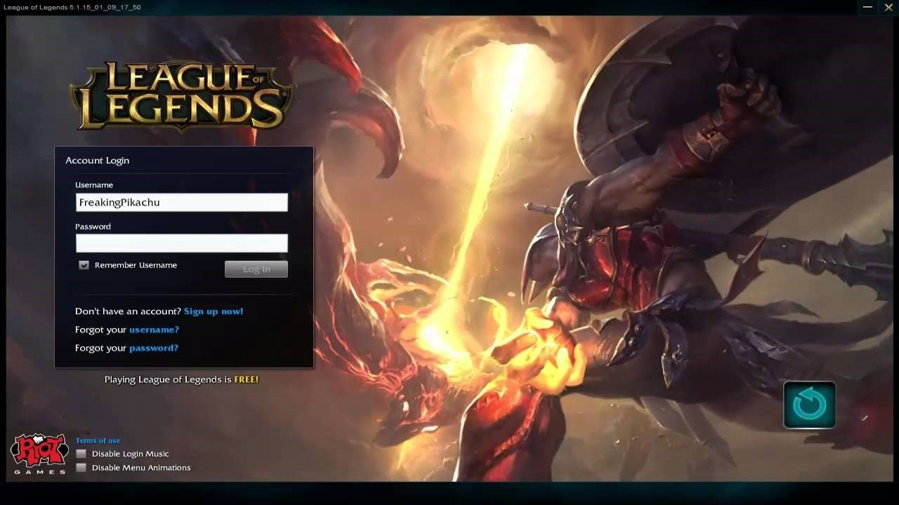 free games like league of legends
