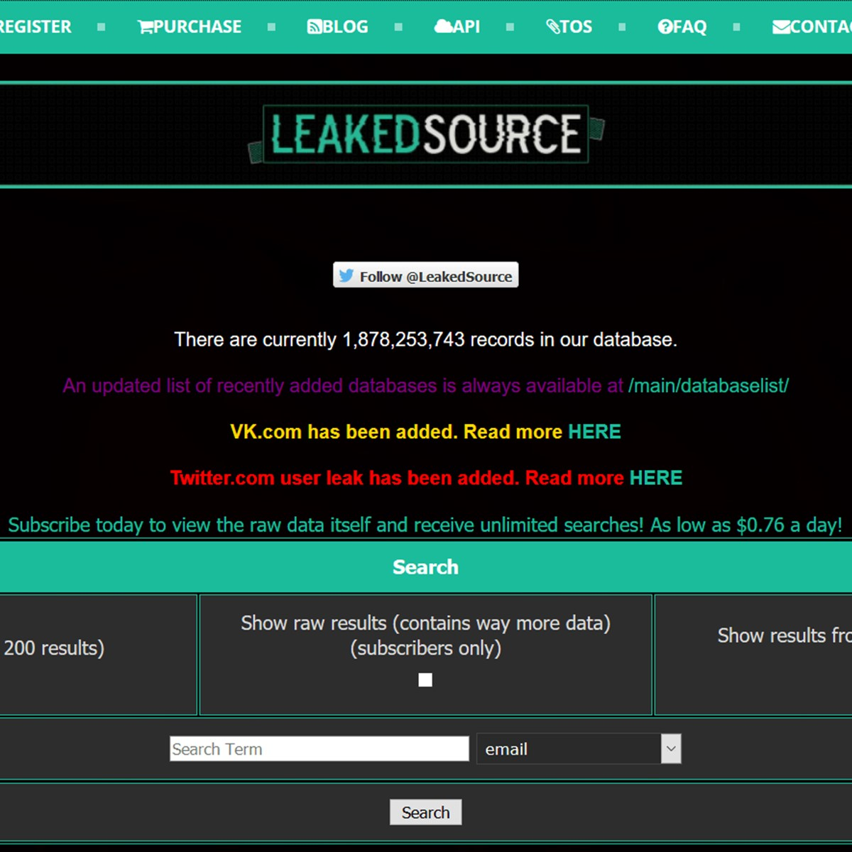 LeakedSource Alternatives and Similar Websites and Apps