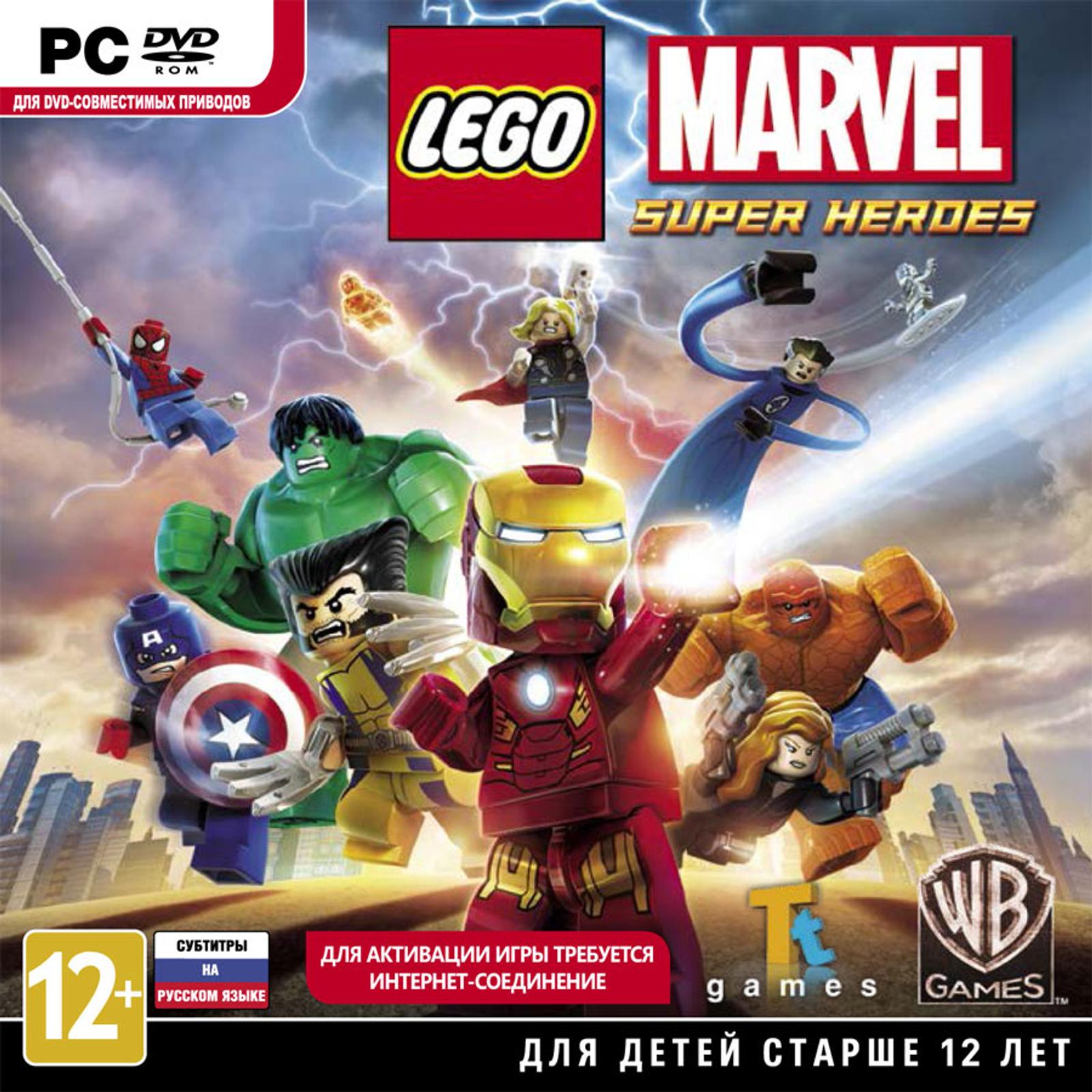 Lego marvel super heroes alternatives and similar games - Logo super heros ...