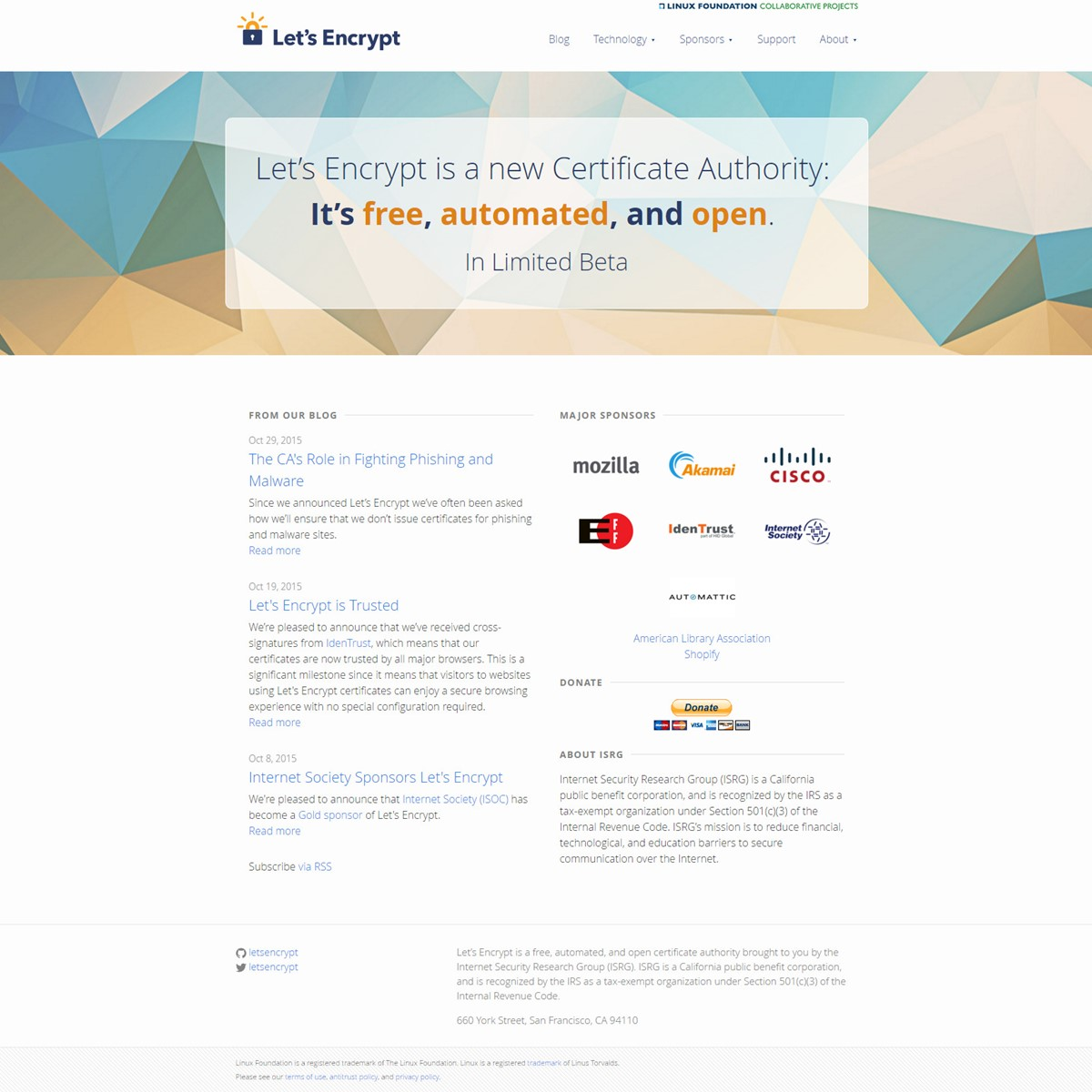 Let's Encrypt Alternatives And Similar Websites And Apps