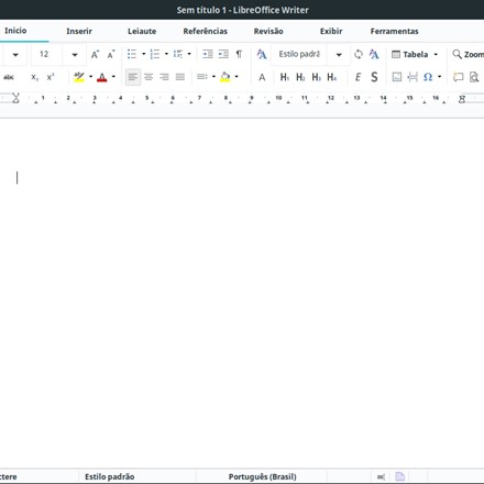 LibreOffice 6.2 on Linux Mint with new notebookbar