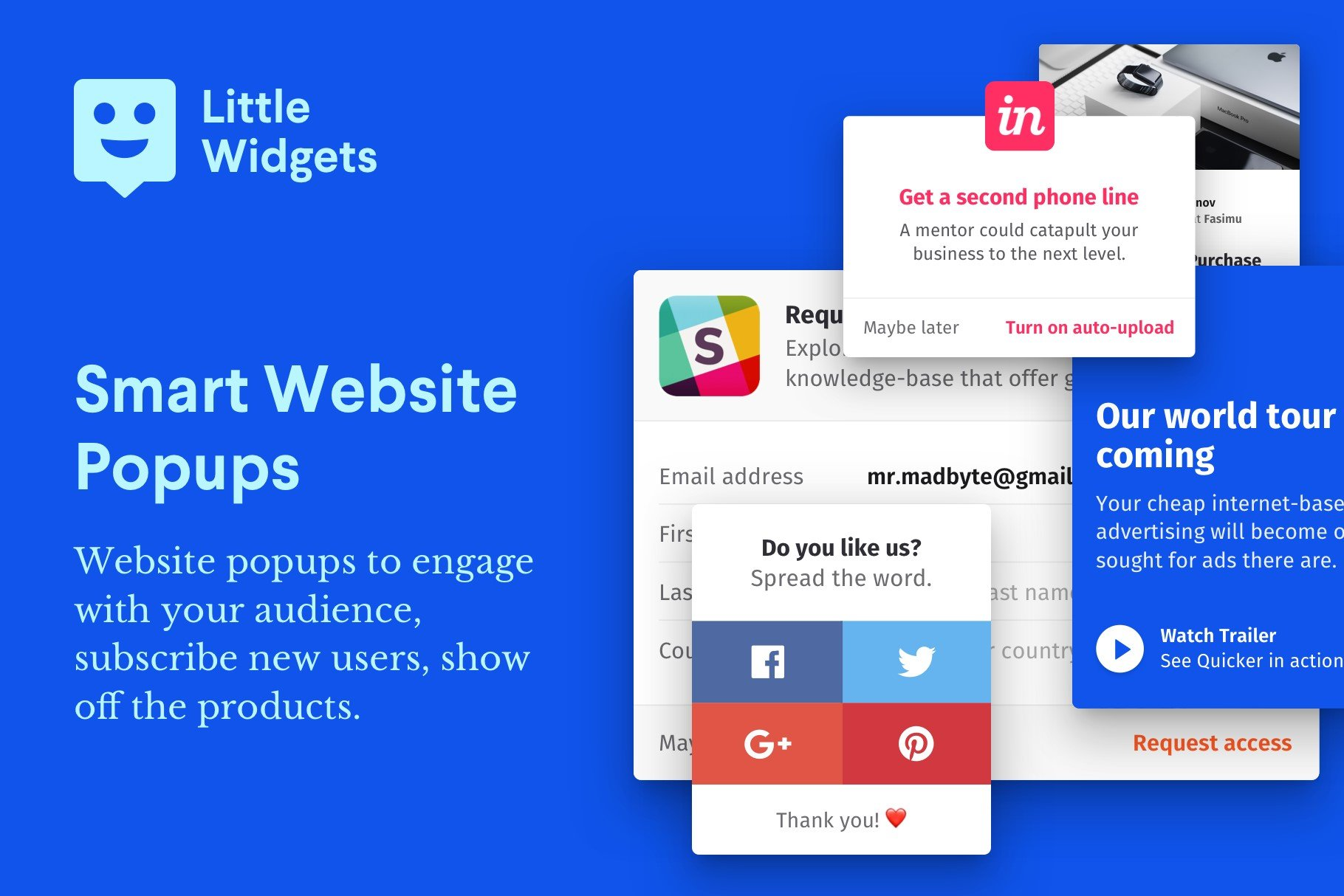 Little Widgets Alternatives and Similar Websites and Apps