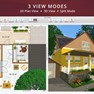 3 View Modes: Floor Plan, 3D View and Split Mode icon