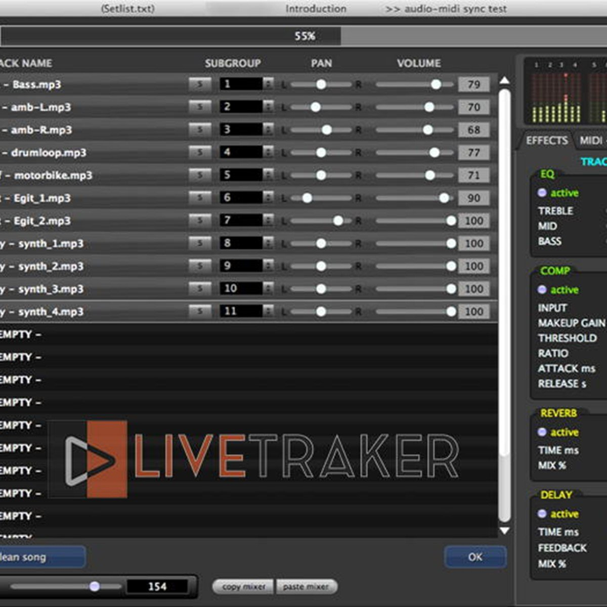 Livetraker Audio Midi Player Alternatives and Similar