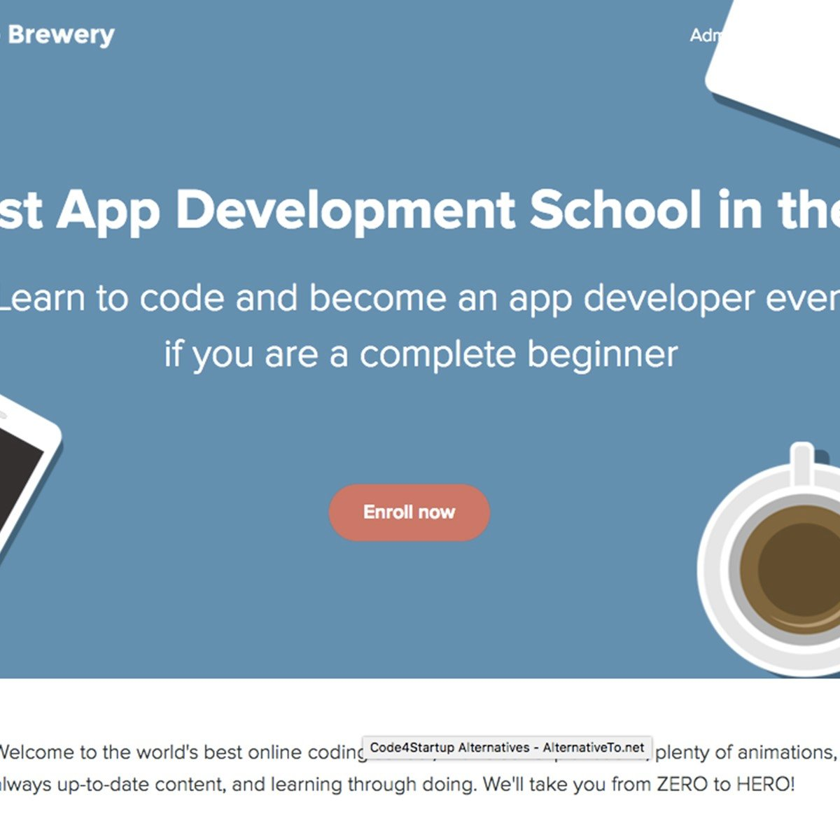 The App Brewery Alternatives and Similar Websites and Apps