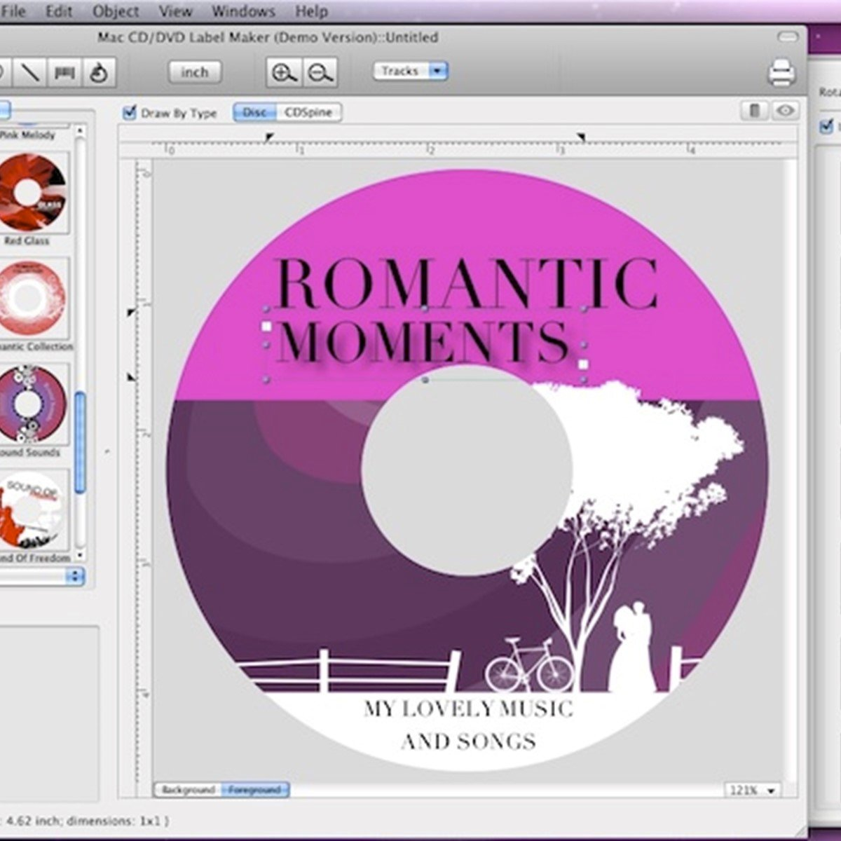 Mac cd dvd label maker alternatives and similar software for Dvd cover template mac