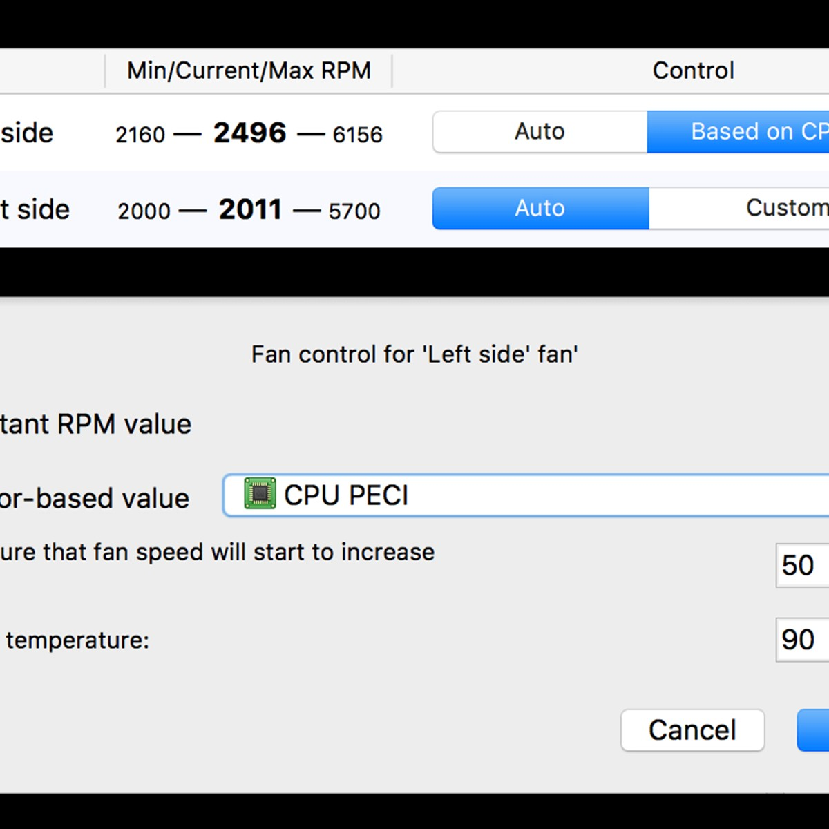 Macs Fan Control Alternatives and Similar Software