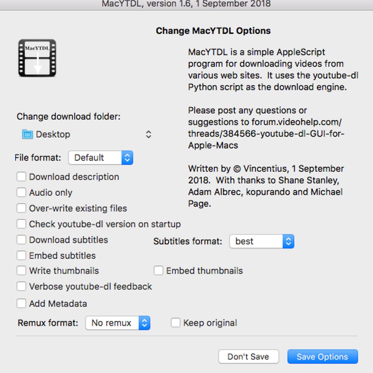 MacYTDL Alternatives and Similar Software - AlternativeTo net