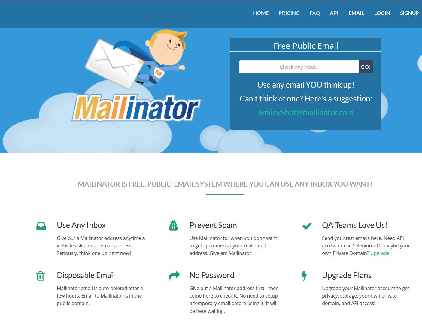 Mailinator Alternatives and Similar Websites and Apps