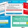 Ton of email optin form themes available to choose from