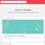 Design section of makerade.com
