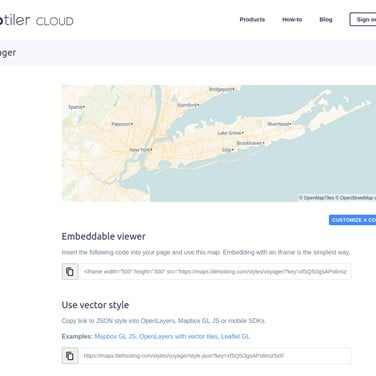 MapTiler Cloud Alternatives and Similar Websites and Apps