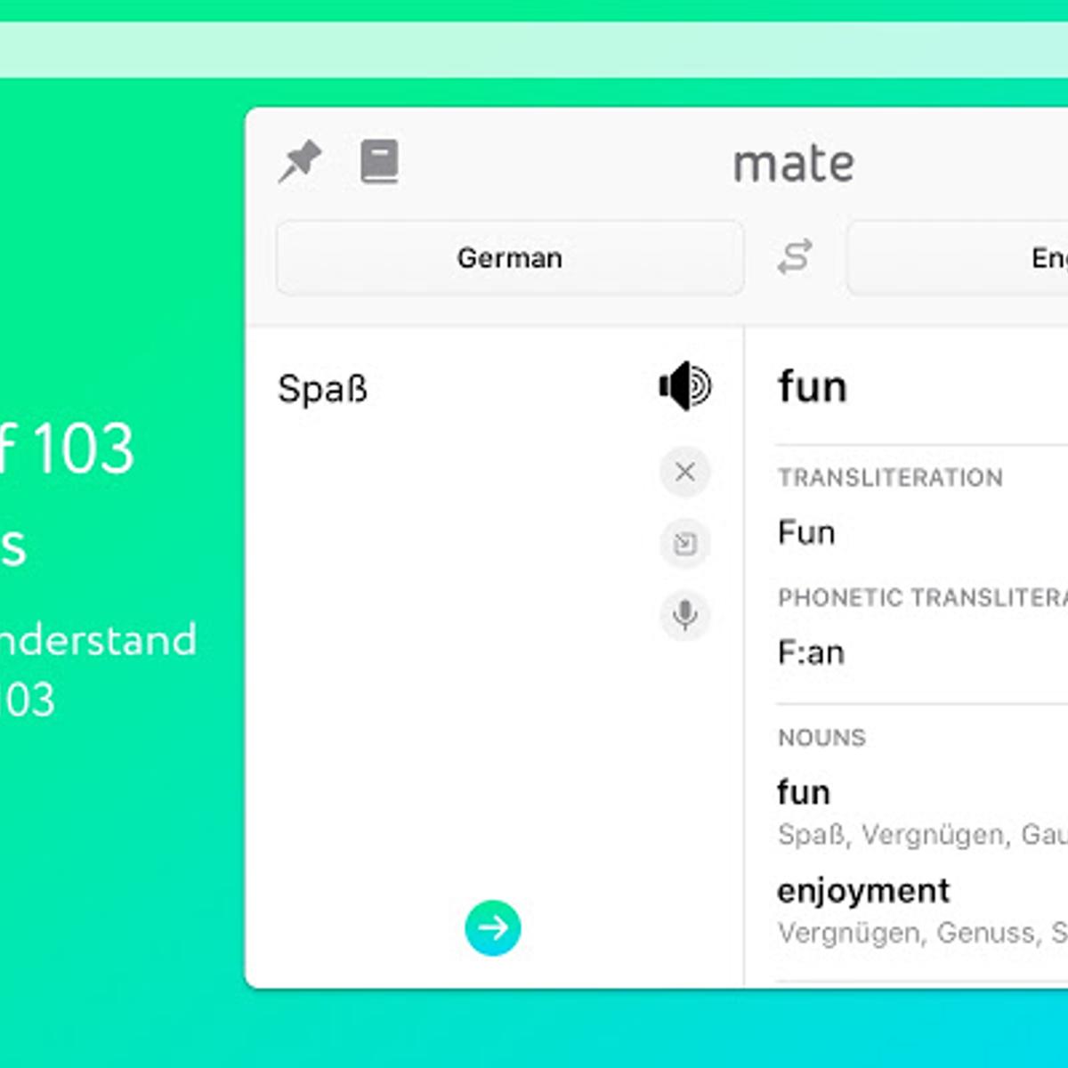 Mate Translate Alternatives and Similar Software - AlternativeTo net