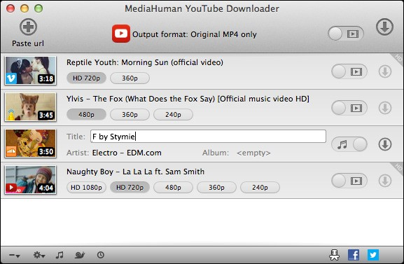 Mediahuman youtube downloader alternatives and similar software its possible to update the information on mediahuman youtube downloader or report it as discontinued duplicated or spam stopboris Gallery