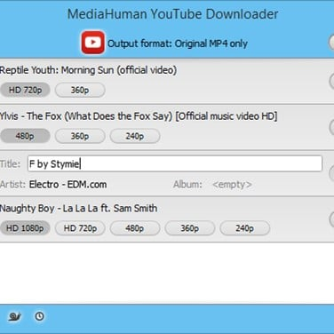 MediaHuman YouTube Downloader Alternatives and Similar Software