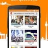 See what's going on around you, buy and sell travel equipment, ask questions, get recommendations icon
