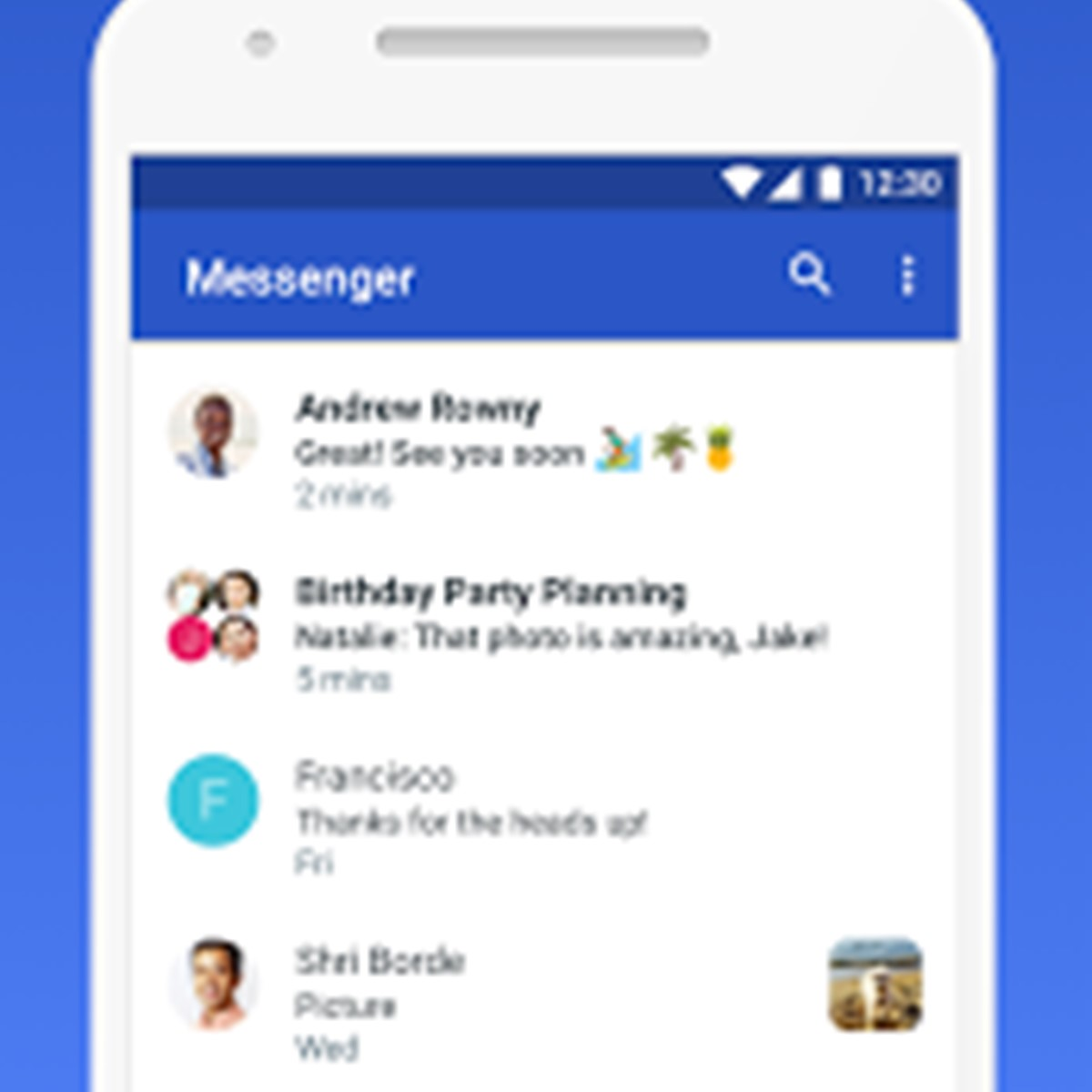 how to send photos from android to messenger with music