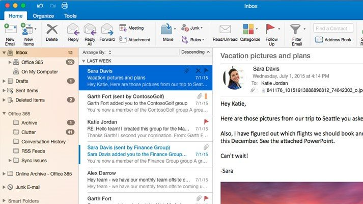 Microsoft Office Outlook Reviews, Features, and Download links