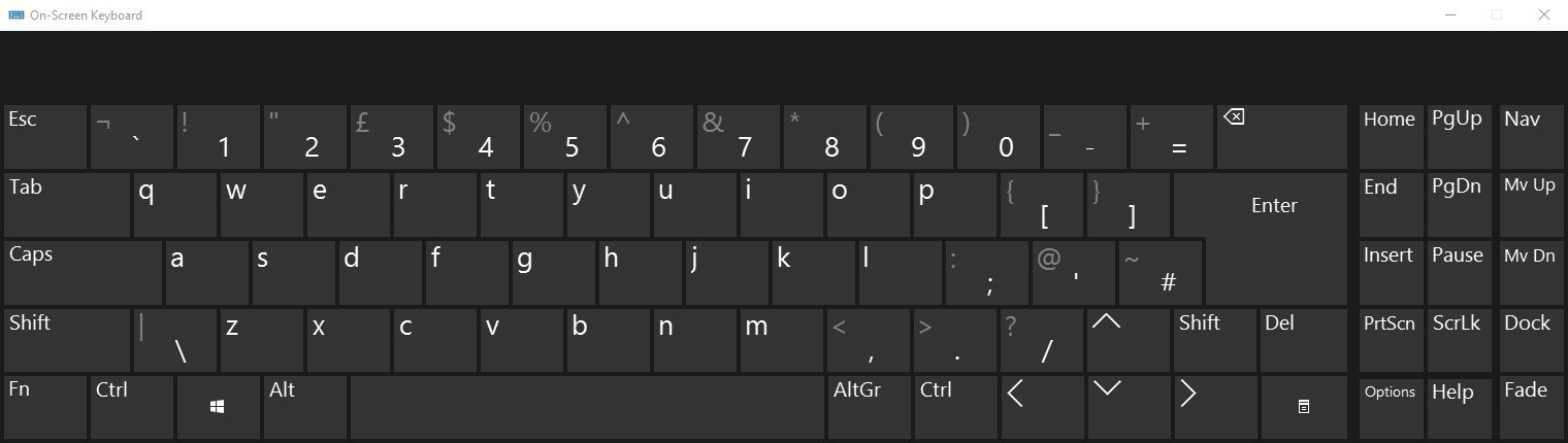 Microsoft On-Screen Keyboard Alternatives and Similar