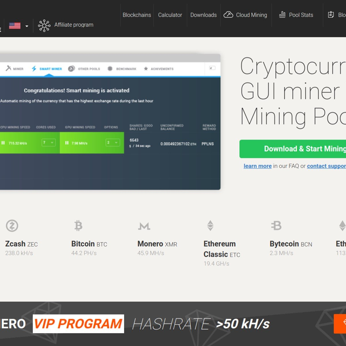 Mining Pool Like Minergate