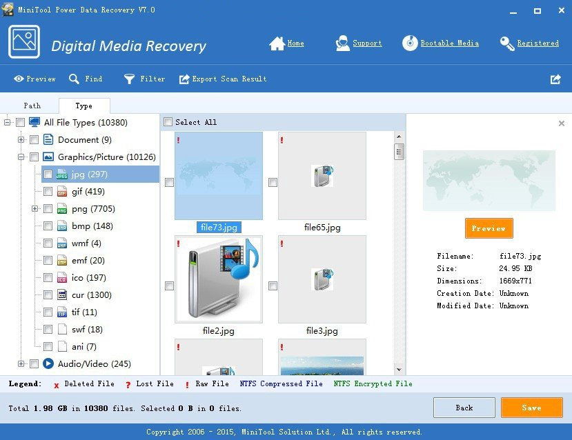 minitool power data recovery free edition android