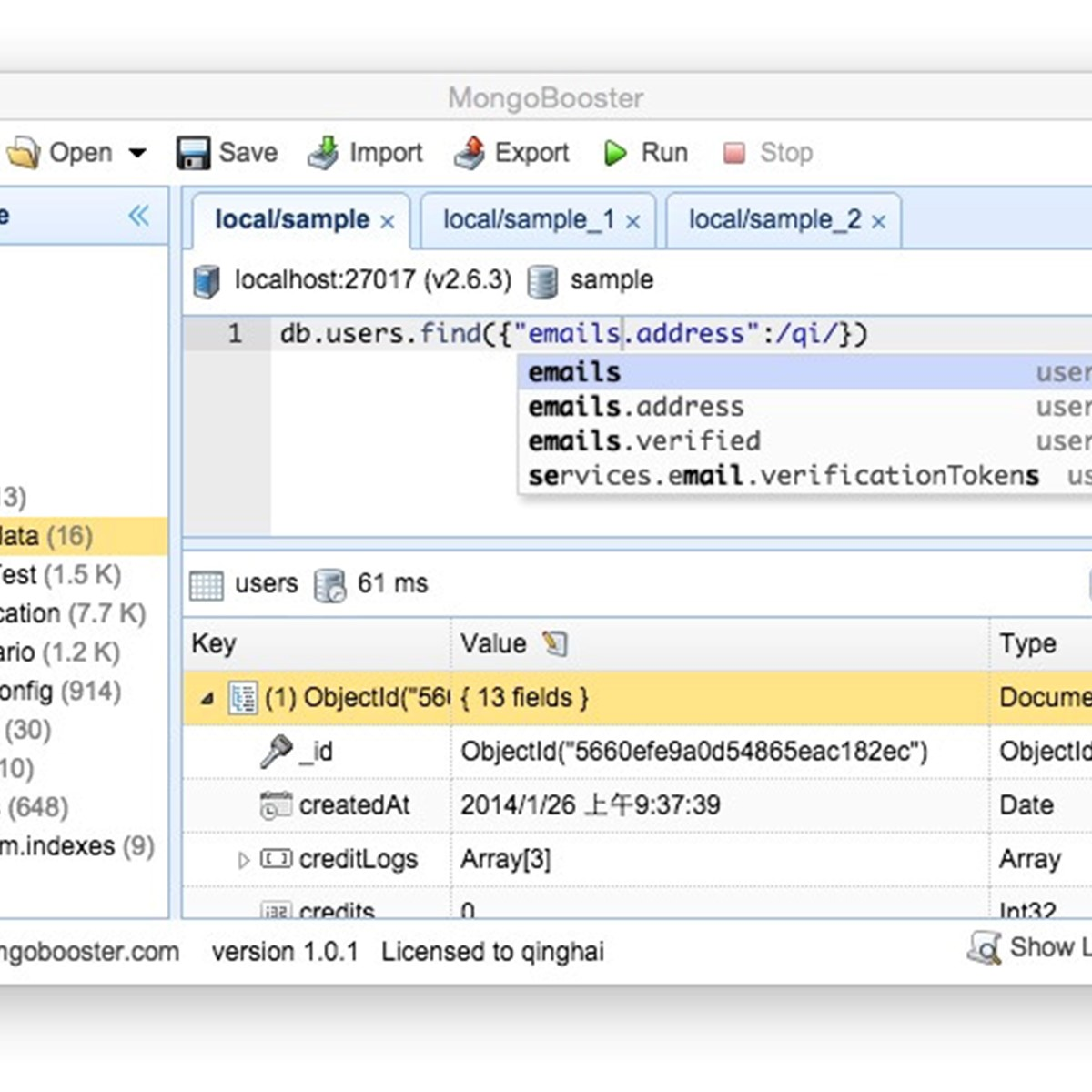 NoSQLBooster for MongoDB Alternatives and Similar Software