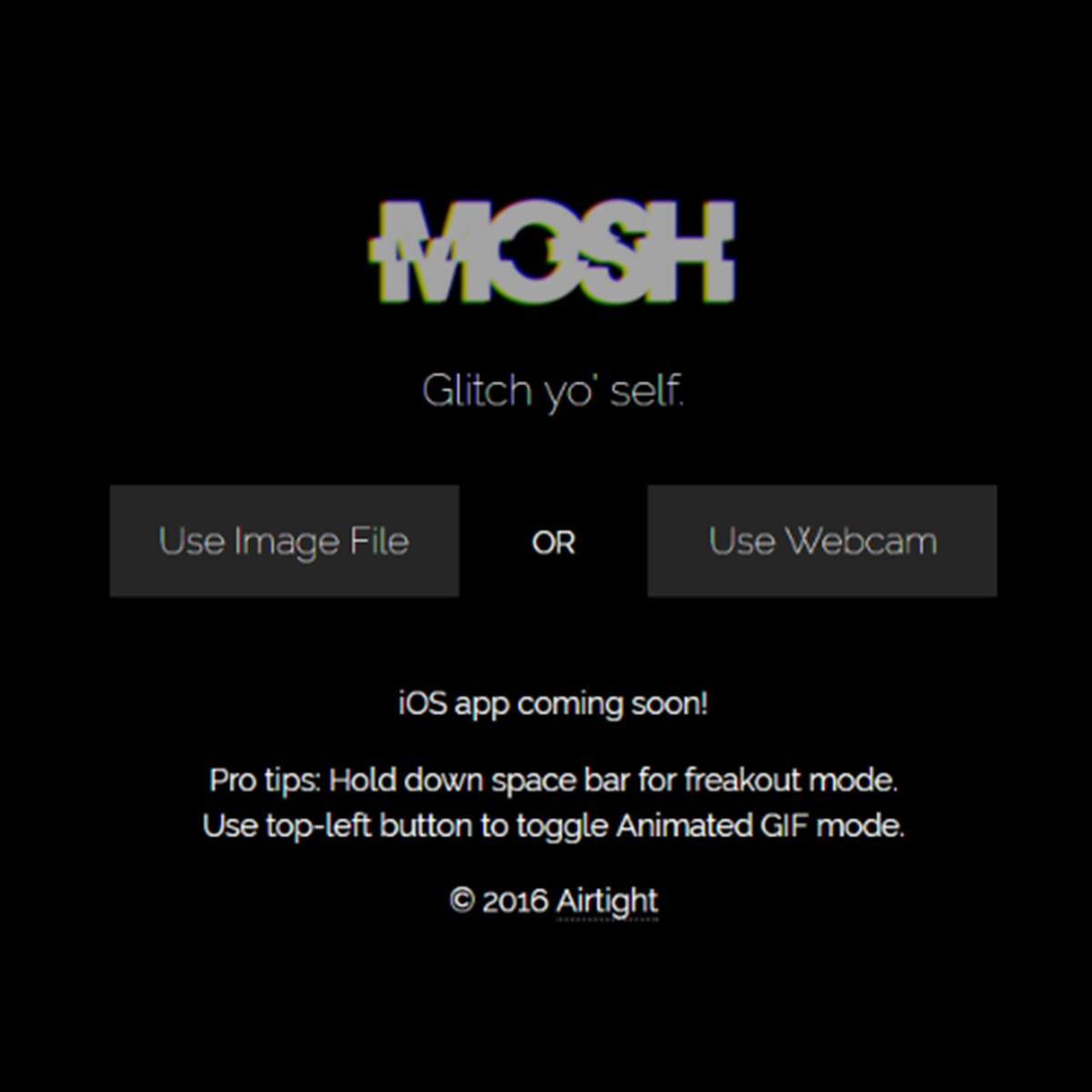 MOSH glitch effects Alternatives and Similar Websites and Apps