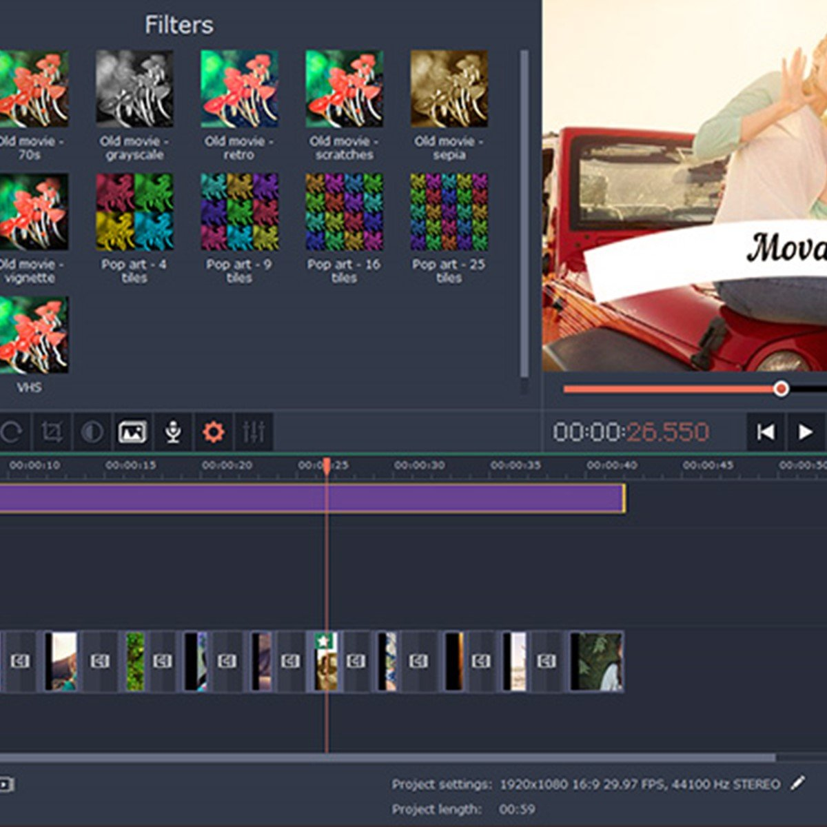 movavi video editor 16 full español