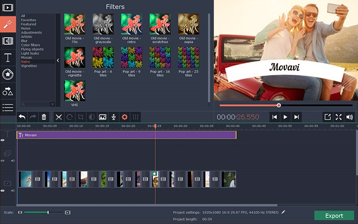movavi video editor 14 key free