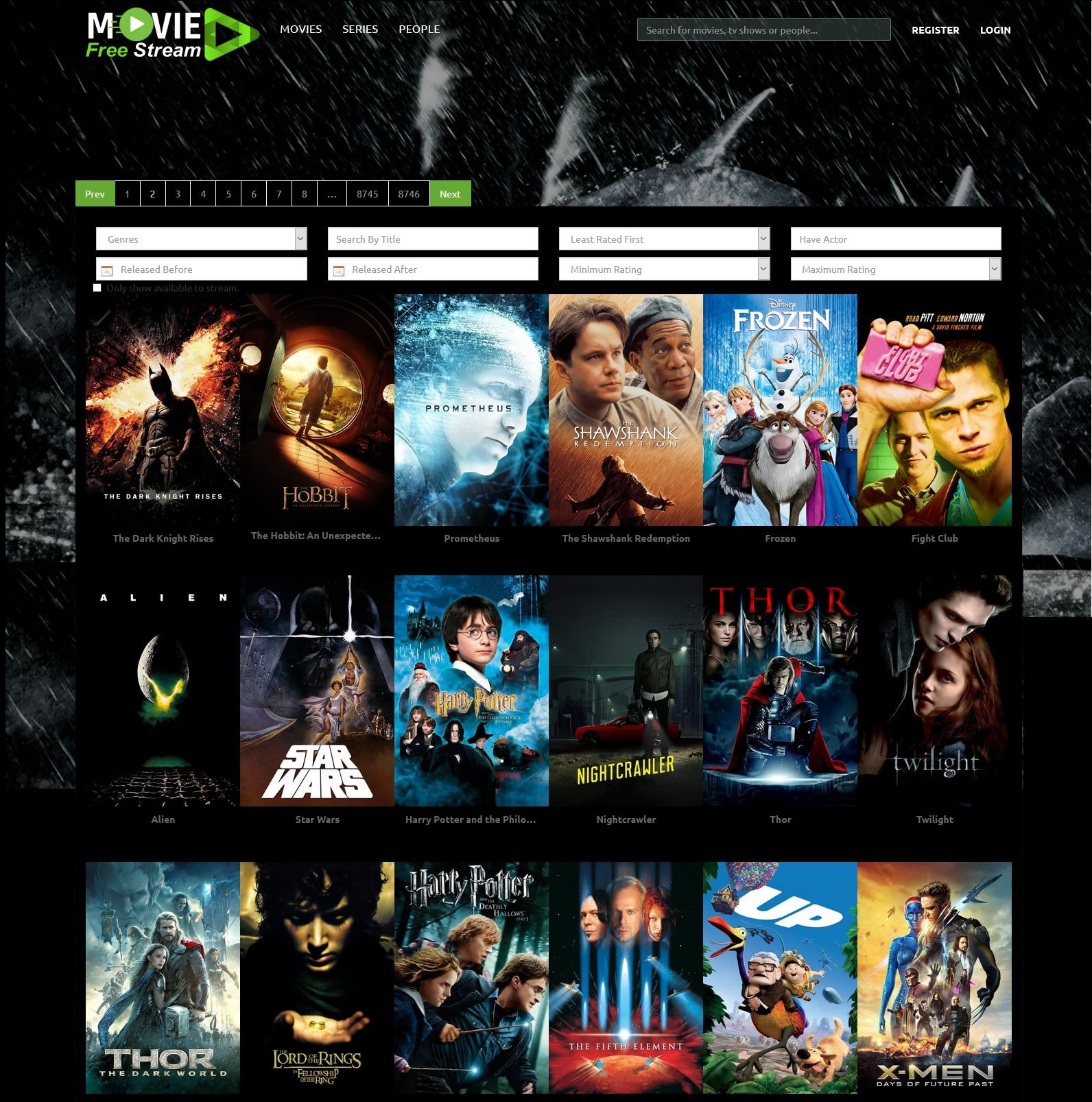 movie websites free without ads